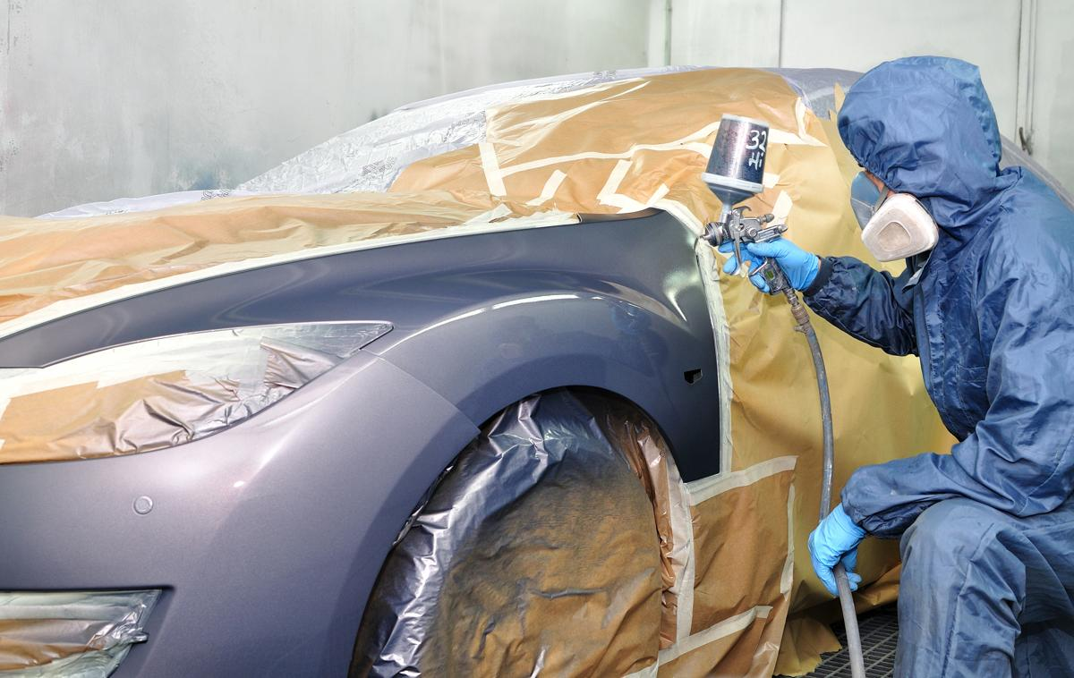 Quand refaire la peinture d'une voiture ?